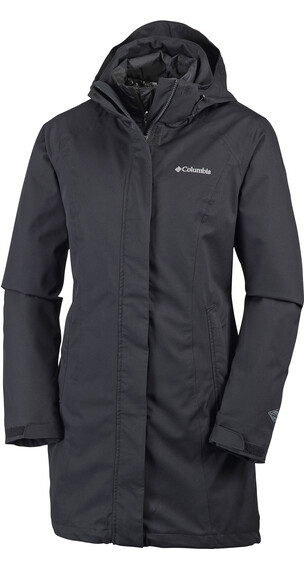 Columbia Salcantay Long Interchange Jacket Women Black